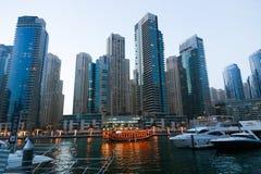 Marina Dubai stockbilder
