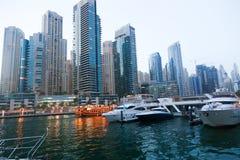 Marina Dubai lizenzfreie stockbilder
