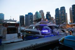 Marina Dubai lizenzfreies stockfoto