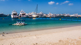 Marina in Dubai Royalty Free Stock Image