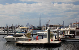 Marina at the Dubai Festival City Stock Photography