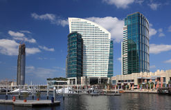 Marina at the Dubai Festival City Stock Image