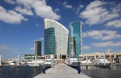 Marina at the Dubai Festival City Stock Photography