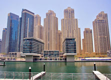 Marina Dubai Royalty Free Stock Images