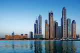The Marina in Dubai, United Arab Emirates Stock Photos