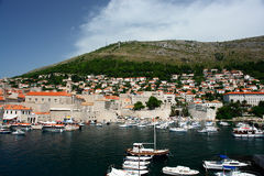Marina at Dubrovnik, Croatia Royalty Free Stock Images