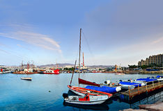 Marina in Eilat, Israel Stock Photos