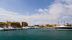 Marina of el gouna Royalty Free Stock Images