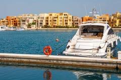 Marina. El Gouna, Egypt Royalty Free Stock Image