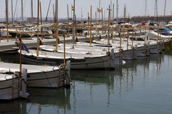 Marina in Estartit Royalty Free Stock Photos