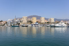 Marina of Estepona, Spain Royalty Free Stock Images