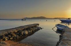 Marina et bateaux Images stock