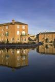 marina för lägenhetbrighton lyx Arkivfoto