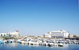Marina of Faro city Royalty Free Stock Photo