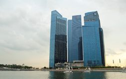 Marina Financial Centre in Singapore Stock Images