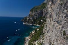 Marina flecik w Capri zdjęcie royalty free