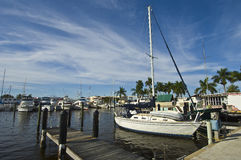 Marina-Florida Royalty Free Stock Photos