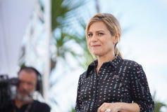 Marina Fois assiste al photocall immagini stock