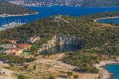 Marina Frapa lake Stock Images