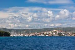 Marina Frapa, Rogoznica, Croatia, view Royalty Free Stock Images