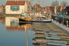 Marina in Gdansk Royalty Free Stock Photo