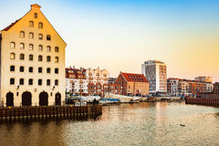 Marina of Gdansk Royalty Free Stock Photography