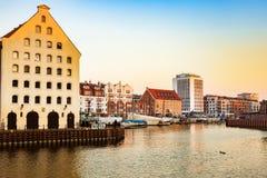 Marina of Gdansk Royalty Free Stock Photography