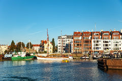 Marina of Gdansk Stock Photo