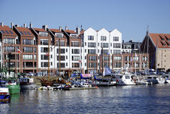 Marina of Gdansk in Poland Stock Photography