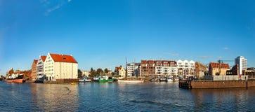 Marina of Gdansk Stock Photo