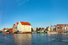 Marina of Gdansk Royalty Free Stock Image