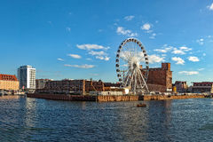 Marina in Gdansk Royalty Free Stock Photography