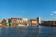 Marina in Gdansk Stock Photos