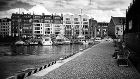 Marina in Gdansk. Royalty Free Stock Photos
