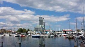 Marina in Gdynia, Poland Stock Photo