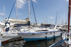 Marina of Gdynia in Poland Stock Photography