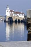 Marina Getxo nel paese basco Fotografia Stock