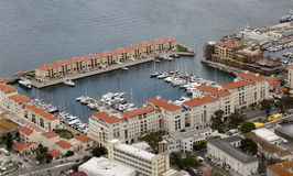 Marina - Gibraltar Royalty Free Stock Photography