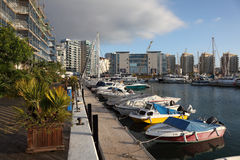 Marina in Gibraltar Stock Photography