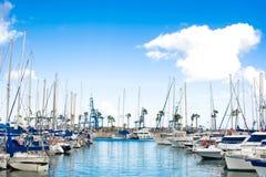 Marina in Gran Canaria Stock Photography
