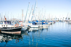 Marina in Gran Canaria Stock Photography