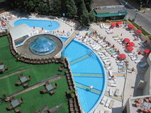 Marina Grand Beach Hotel, Bulgarie photos libres de droits