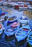 Marina Grande cerca de Sorrento, Italia Fotografía de archivo