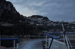 Marina Grande-Hafen stockfotografie