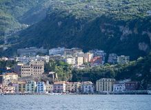 Marina Grande Harbour. Marina Grande is the old fishing harbour of Sorrento stock photo