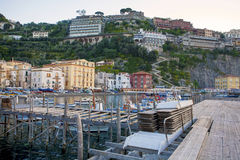 Marina Grande in Sorrento, Italy. Marina Grande (big), Sorrento, Italy Royalty Free Stock Image