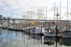 Marina at Granville Island Stock Photography