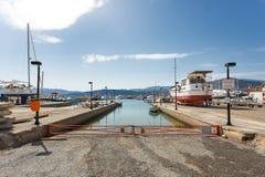 Marina grka miasto Zdjęcia Stock