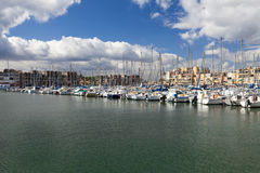 The Marina of Gruissan Royalty Free Stock Images