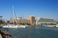 Marina harbour at Eilat city Stock Photos